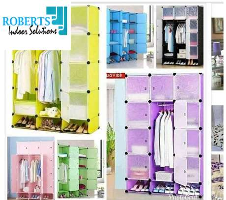 variety of colors for plastic wardrobe image 1