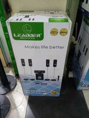 LEADDER 5.1CH Wireless Bluetooth Tallboy Home Speaker with Mircrophone SP-575 image 2
