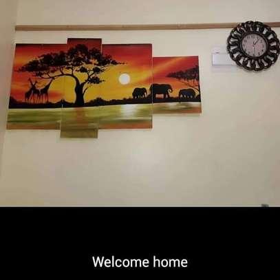 Sungura Art Painting Wall decor Painting On Canvas image 4