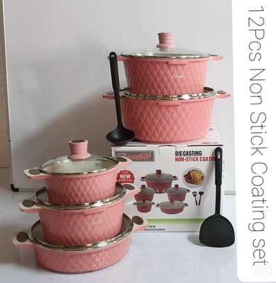 12 Pcs Cooksun Cookware Set image 4