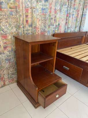 Super KING Size Bed With 2 Night Stands image 6