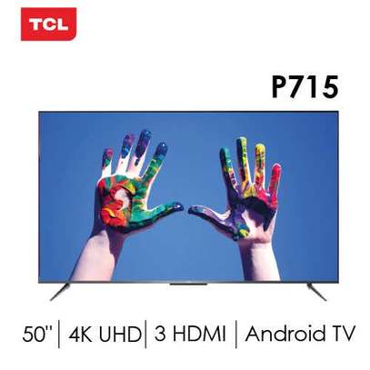 TCL 50 Inch Smart Android P715 4K TV image 1