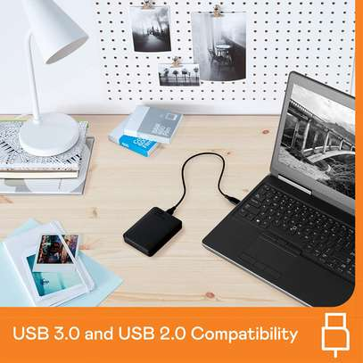 WD 5TB Elements Portable External Hard Drive HDD, USB 3.0, Compatible with PC, Mac, PS4 & Xbox image 3
