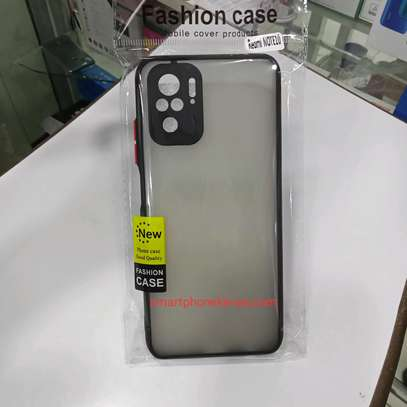 Redmi Note 10 Cover/Case & Glass protector image 2