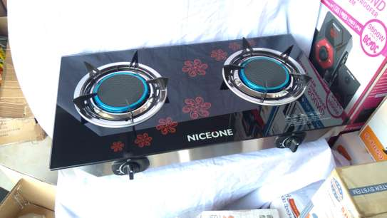 2 Burner - Glass top - Black image 3
