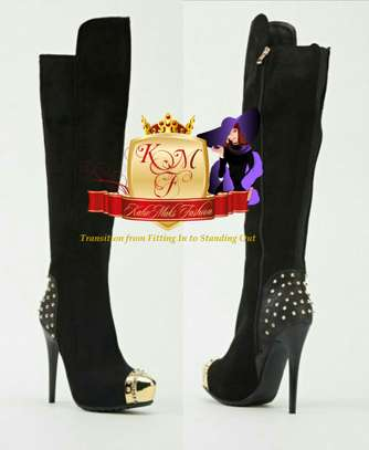 Knee Length Boots Made in U.K image 3
