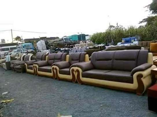 SofaSet (Kangaroo 7 Seater) Pure Leather image 1