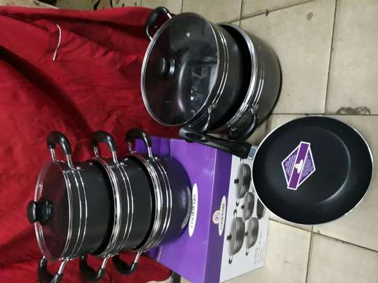11pc nonstick sufuria/ cookware/cooking pot image 1