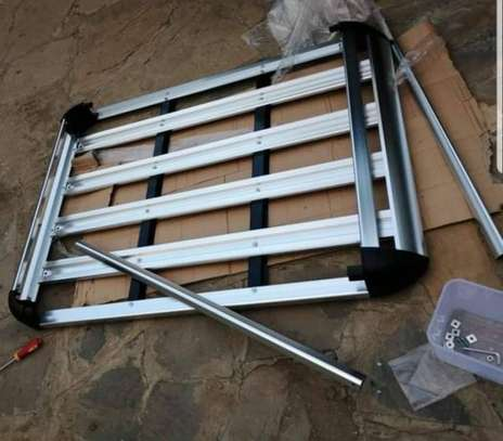 Aluminum Car Roof Cargo Carrier Luggage Basket Rack Top image 3