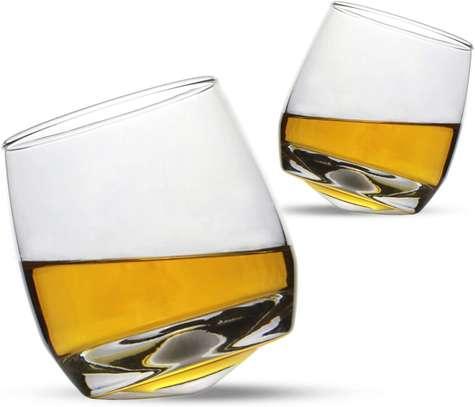 Rocking Whiskey  Glasses, Set of 6 image 2