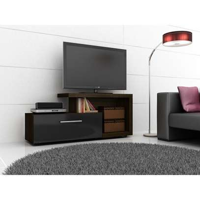 TV Stand For Up to 50'' TVs - Tecno Mobili , BlackBrown image 1