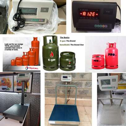 Kenyan Government Approved Weighing scale for LPG image 1