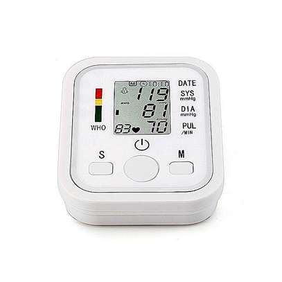 Digital Arm Blood Pressure Upper Arm Fully Automatic Monitor Heart Beat Meter image 3