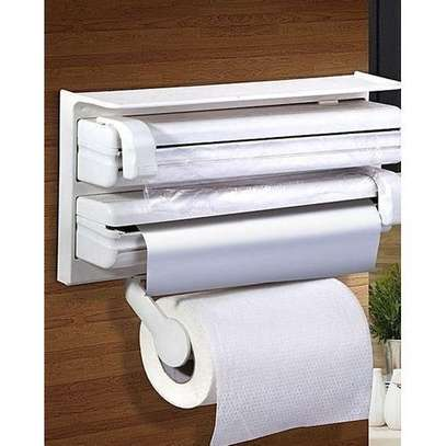3 in 1 kitchen foil,cling film and kitchen roll/paper dispenser image 3
