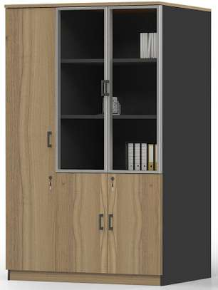 Brooklyn 3 Doors LHS/RHS Cabinet in Brown Oak image 1