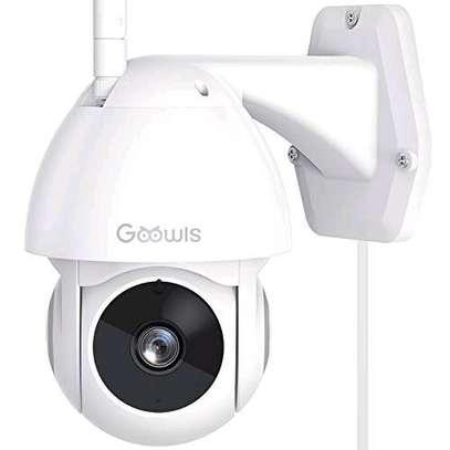 4 MP ptz WiFi camera night vision image 1