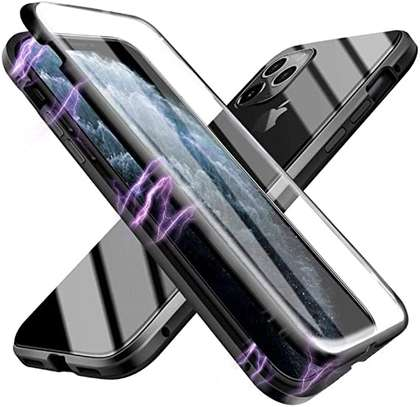 Magnetic Double-sided 360 Full Protection Glass Case for iPhone 11/11 Pro 11 Pro Max image 5