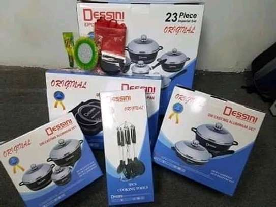 cooking ware 23 pieces Dessini