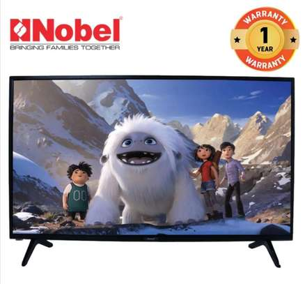 nobel 32 smart android frameless tv image 1