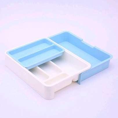 Cutlery drawer organizer image 1