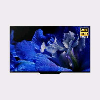 Sony 55″ A8F 4K HDR OLED TV image 1