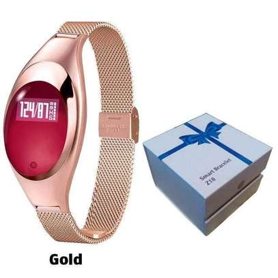 Z18 Women's Smart Bracelet With Heart Rate Pedometer Bluetooth image 5