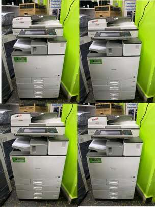 Unbeatable offers on ricoh aficio mpc2003 colored photocopier image 1