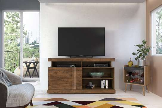 Creol Brown TV Stand image 1