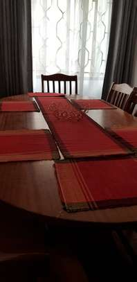 High quality Mahogany 8 Seater Dinning Table Set image 7