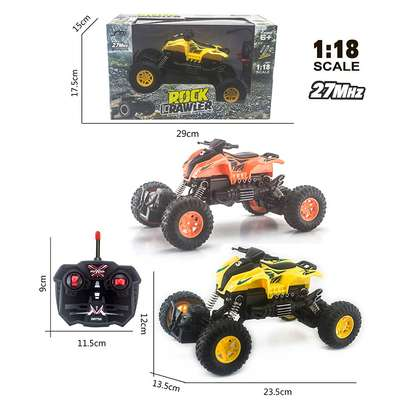 Children's remote control toy rock climber car image 5