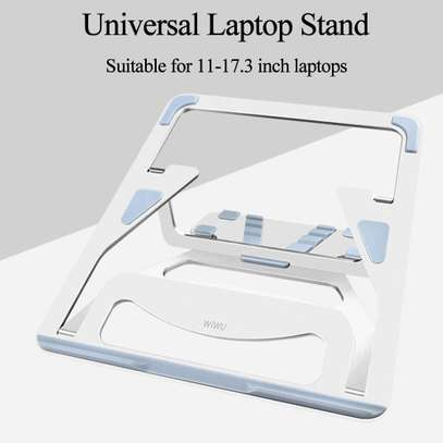 MacBook Air Pro WIWU S100 Lohas Stand Gray (S100) Laptop Stand image 6
