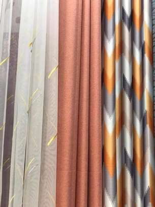 ORANGE QUALITY CURTAINS image 3