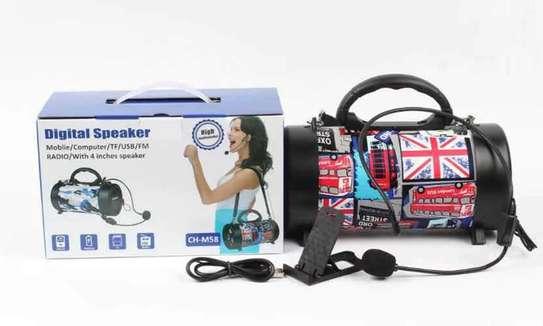 Bluetooth Speaker Outdoor With Shoulder Belt image 5