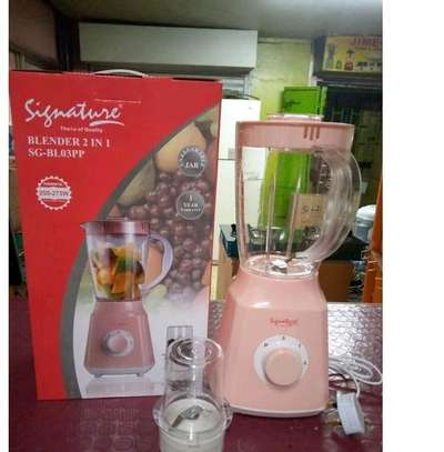2 in 1 Signature Blender with Grinder