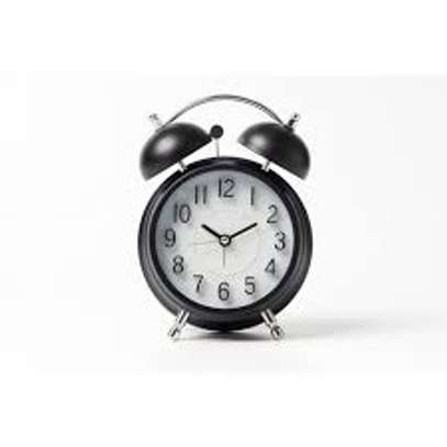 4 inches Twin Bell Loud Alarm Clock for Heavy Sleepers image 1