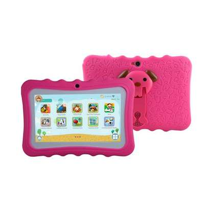 "Android Kids Tablet - 7"" - 2.0MP Rear - 1.3MP Front - 1GB RAM - 8GB - Android - Wi-Fi - Pink"