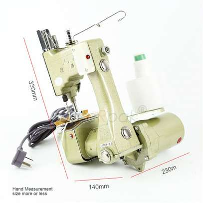 Electric Portable Sewing Machine. image 1
