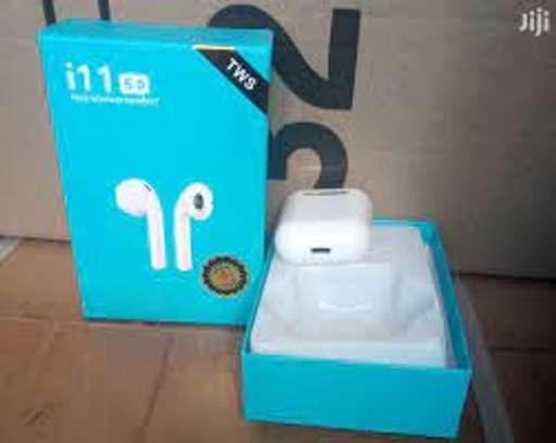 Bluetooth 5.0 Earphones True Wireless Earbud TWS i11 image 1
