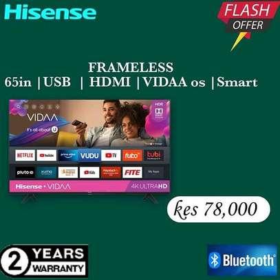 65 Hisense UHD 4K LED TV - Flash Sale image 1