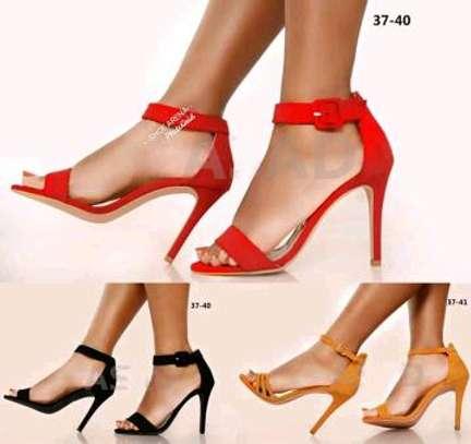 Chunky sharp heels image 1