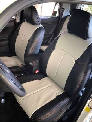 Car Seats Covers Leather Upholstery image 8