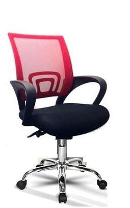 OFFICE MESH LOW BACK CHAIR