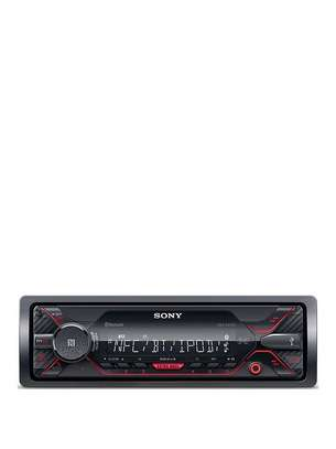 Sony DSX-A4General features  digital media receiver with AM/FM tuner (does not play CDs) built-in amplifier (18 watts RMS CEA-2006/55 peak x 4 channels) built-in Bluetooth connectivity USB port accommodates Apple devices, select Android phones, and thumb drives MP3/WMA/WAV/FLAC compatible 5-band equalizer detachable face with single-line display high-contrast LCD display remote control Expandability  built-in iPod, iPhone, and iPad control inputs: front USB port, front auxiliary input outputs: 4-channel preamp outputs (2-volt rear and sub) Front AUX Input Front USB Input10BT Car Stereo USB,aux, FM, image 1