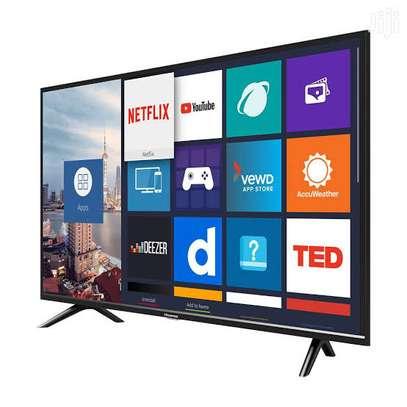 Hisense 43 inches Android Frameless Smart UHD-4K Digital TVs image 1