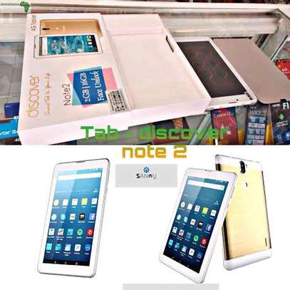 Discover Note 2 Tablet 7Inch Android 4G 2GB 16GB Storage Wi-Fi, Dual Core, Dual Camera image 1