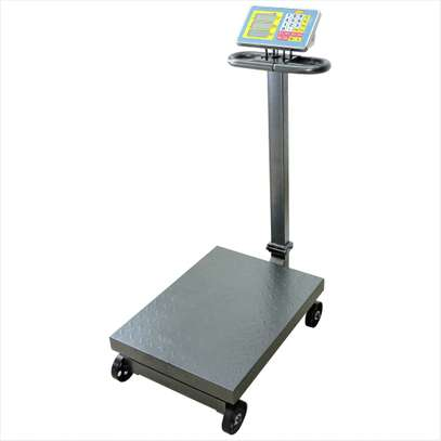 Weighing Electronic Scale 500kg Express Scale Floor Scale image 1