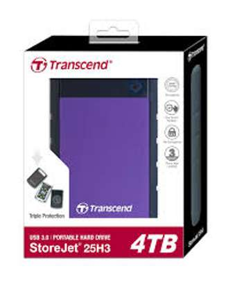 transcend  external 4 tb hdd image 1