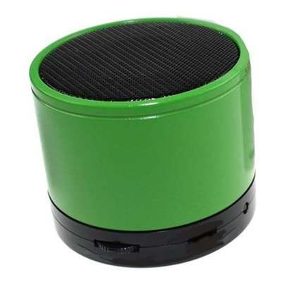 Mini Bluetooth Wireless Stereo Speakers FM, Memory Card, Bluetooth, USB - Green image 1