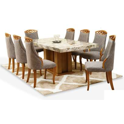 Quinnel Ultra Deluxe Dining Table 6 Or 8 Seater image 3