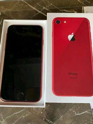 Apple Iphone 8 Red 256 Gigabytes & Airpods image 4